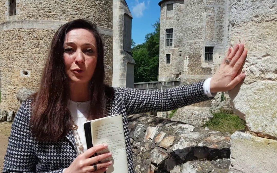 Il castello d'Harcourt.  Una fortezza vichinga dell'anno mille nella foresta dell'alta Normandia.