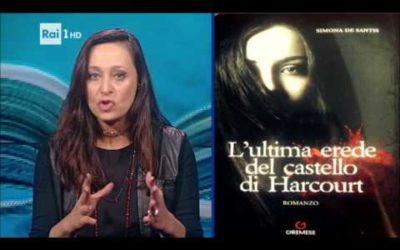 """L'ultima erede del Castello di Harcourt nella """"notte"""" di Marzullo…Scrittori in Tv"""