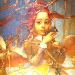 Visioni e suggestioni nel mondo onirico di Alex Dolgikh, ritrattista ucraino. Con Matilde a Stare Mesto, nella vecchia Praga.