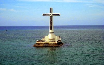 Sunken Cemetery, Camiguin Island Philippines