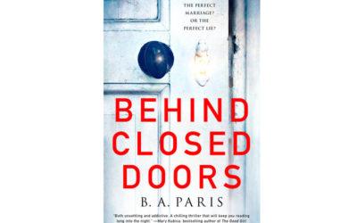 B A PARIS – BEHIND CLOSED DOORS