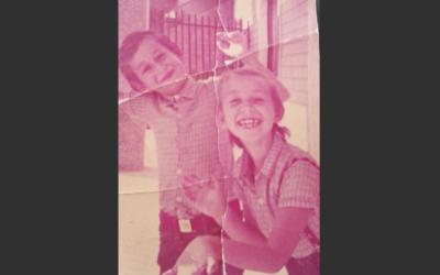 In mansarda l'infanzia felice con mio fratello Tolo.