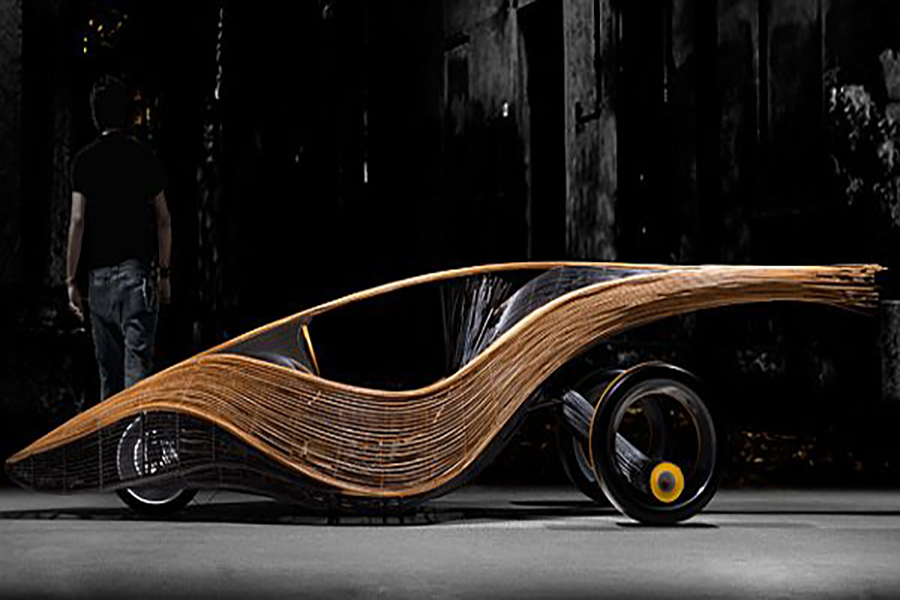The World's First Bamboo and Rattan Roadster made in the Philippines