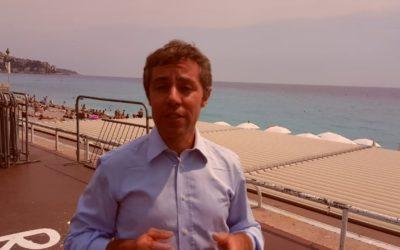 Filippo Golia, inviato speciale del Tg2 RAI, racconta a i segreti di Matilde il primo anniversario dell'attentato di Nizza