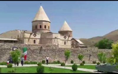 Il monastero di San Taddeo in Iran.