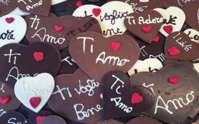 Terni e i 15 anni d'amore, al cioccolato