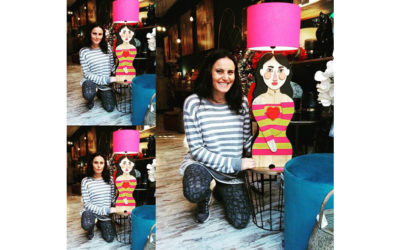 "Make your own lamp"", la lampada ritratto"