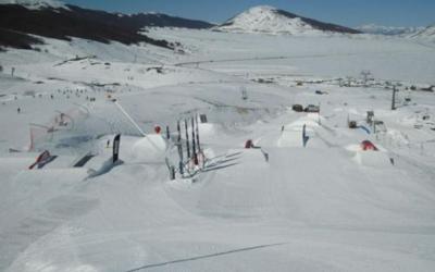 Len a Campo Felice e la scoperta della neve