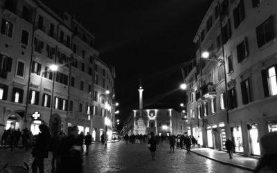Roma di sera. Scatti per sognare un po'.