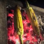 Balal, il mais cotto al forno
