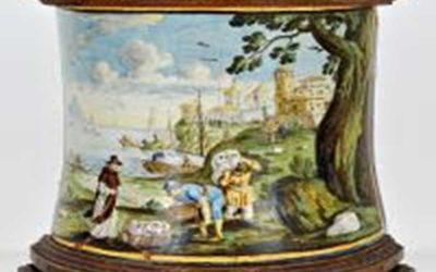 A Castelli, in giro per ceramiche