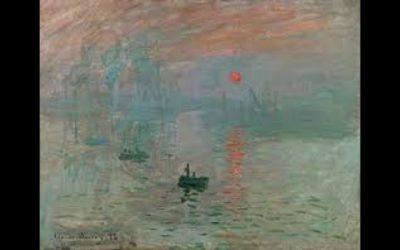 Monet al Complesso del Vittoriano a Roma.