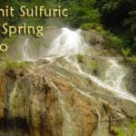 Mainit Sulfuric Hot Spring