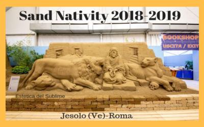 Sand Nativity 2018 Il Presepe di sabbia