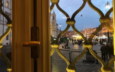 A Piazza Navona per un caffè