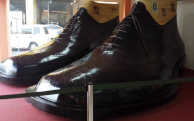 The World's Largest pair of Shoes Made in the Philippines