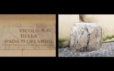 Il vicolo della Spada d'Orlando