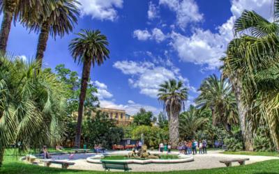 Tutti al fresco ma all'Orto Botanico di Roma