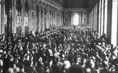 28 GIUGNO 1919: TRATTATO DI VERSAILLES OSSIA FINE DELLA PRIMA GUERRA MONDIALE
