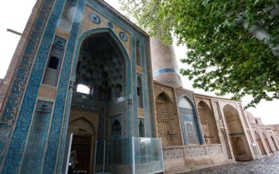 Un altro capolavoro archittetonico: la moschea Jamé di Natanz