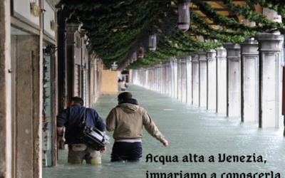 L'Acqua grande a Venezia.