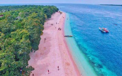 Pink Sand Beach of Zamboanga City