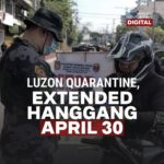 Philippines lockdown extended until April 30, 2020