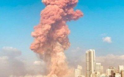L'INFERNO A BEIRUT – L'esplosione di un carico di nitrato di ammonio nel porto della capitale libanese