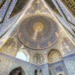 UN BEL SUONO ACUSTICO – Il canto di una donna, con una voce bellissima, nella moschea dell'Imam di Isfahan.
