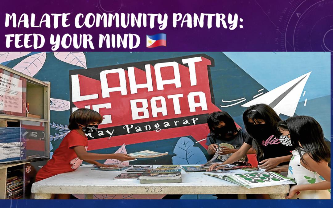 MALATE COMMUNITY PANTRY: FEED YOUR MIND – Cibo per la mente: una comunità letteraria, fatta di libri e lettori.